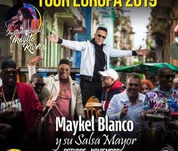 Maykel Blanco y su Salsa Mayor - Tour Europa Ottobre e Novembre 2019